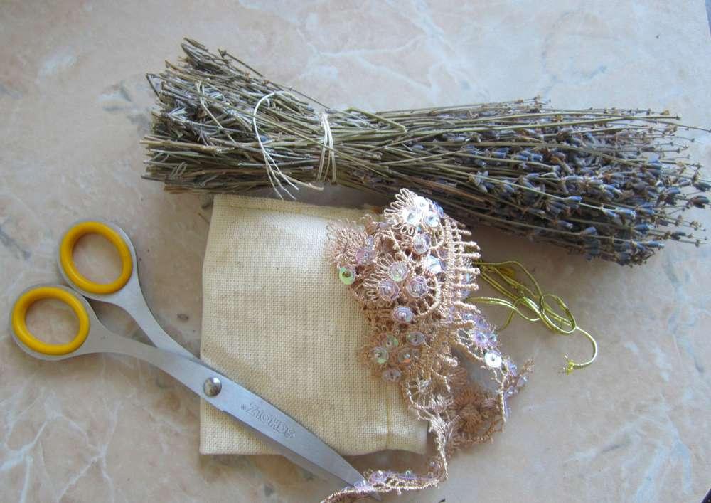 Материалы для изготовления мешочка