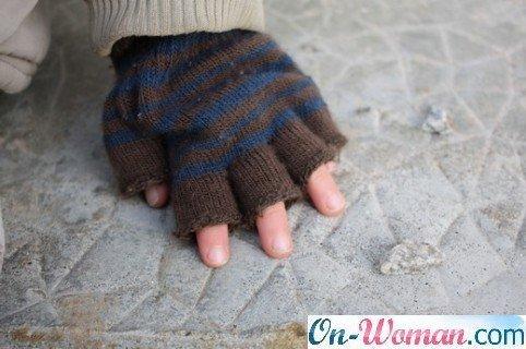с открытыми пальцами