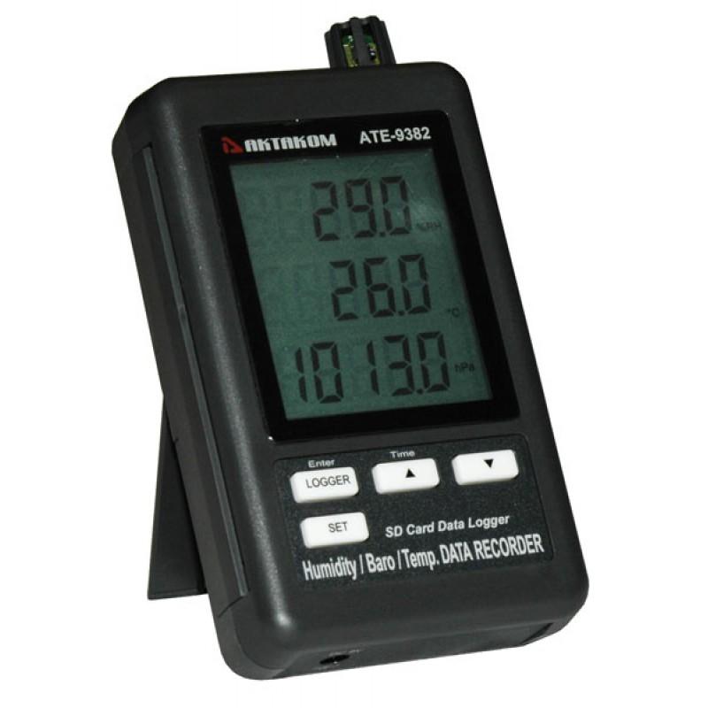 Многофункциональный прибор для контроля микроклимата