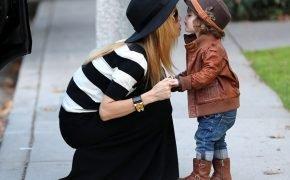 мода молодой мамы