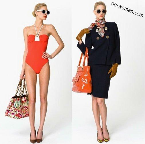 Модные сумки весна-лето 2012 - 70 красивых моделей.