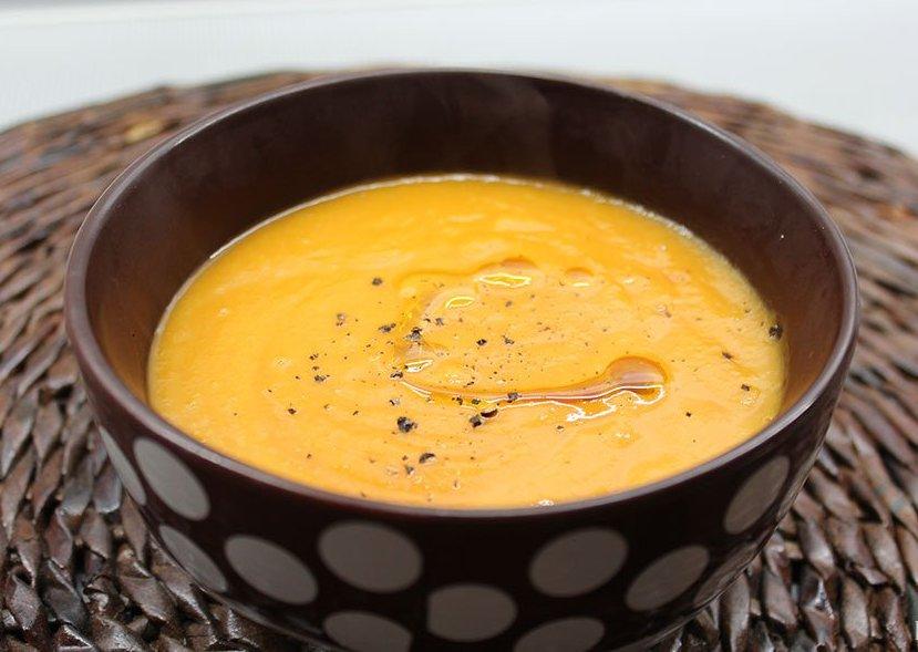 Молочно-тыквенный суп-пюре