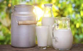 Нежирное молоко и кефир