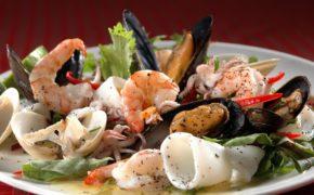 Блюдо из морепродуктов