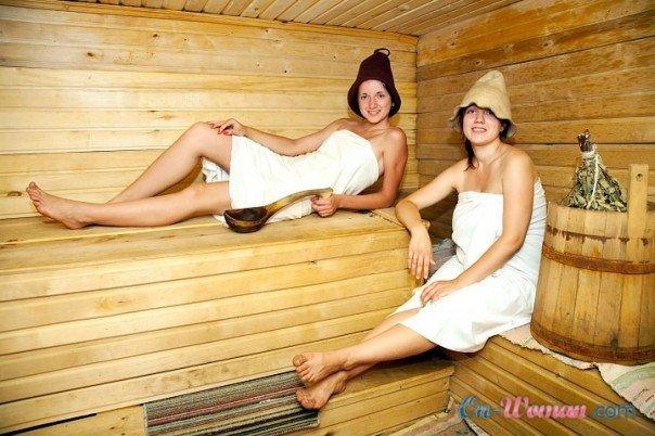 Сексй в бане русское