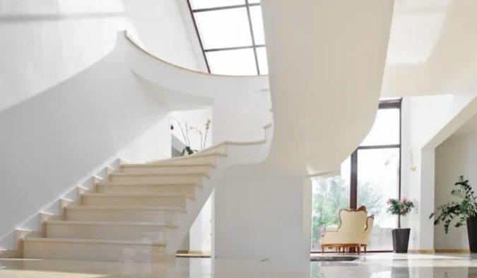 мраморная лестница перила