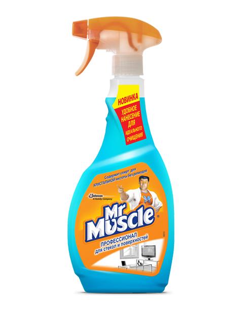 Мистер Мускул для стёкол