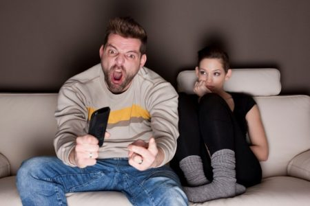 Смотреть порно жены жесть