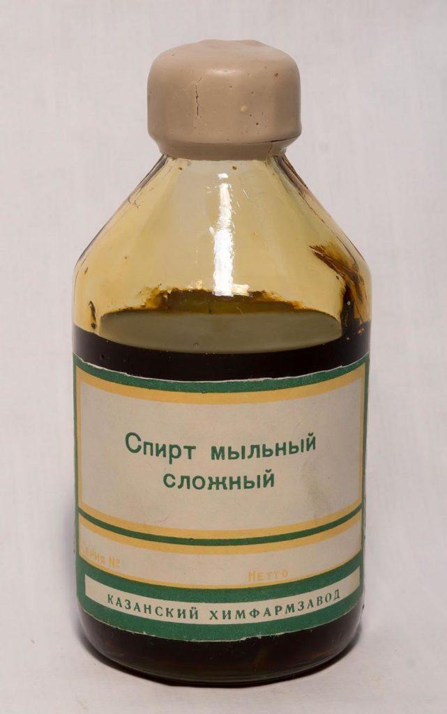 Мыльный спирт в бутылке