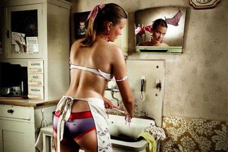 Фото секси уборка — photo 5
