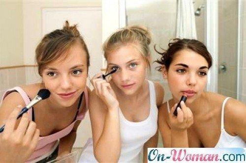 макияж в школу