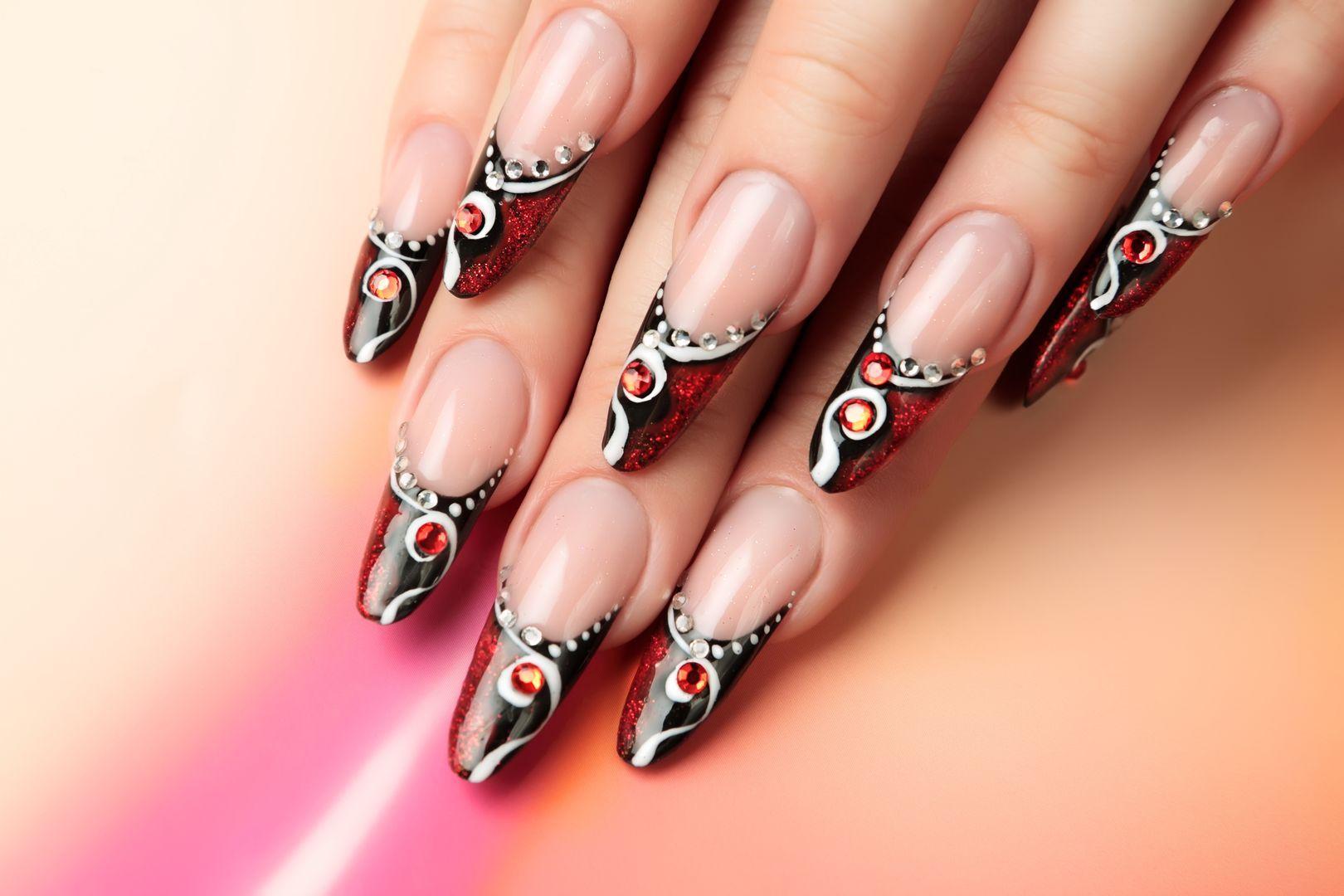 Дизайн для ногтей из акрила фото