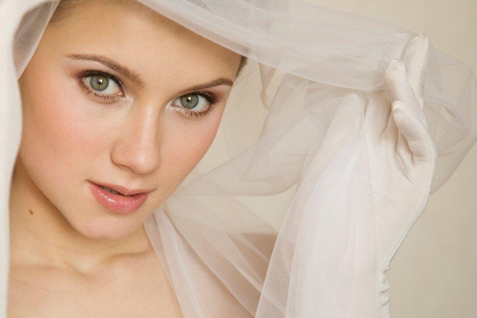 естесственный свадебный макияж