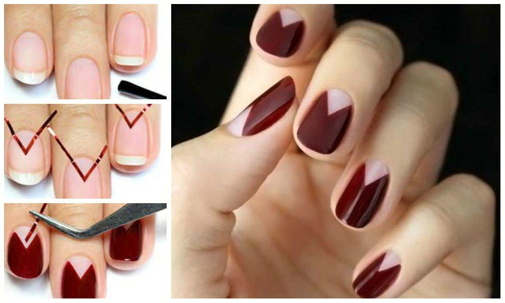 Дизайн ногтей шеллаком фото новинок 44