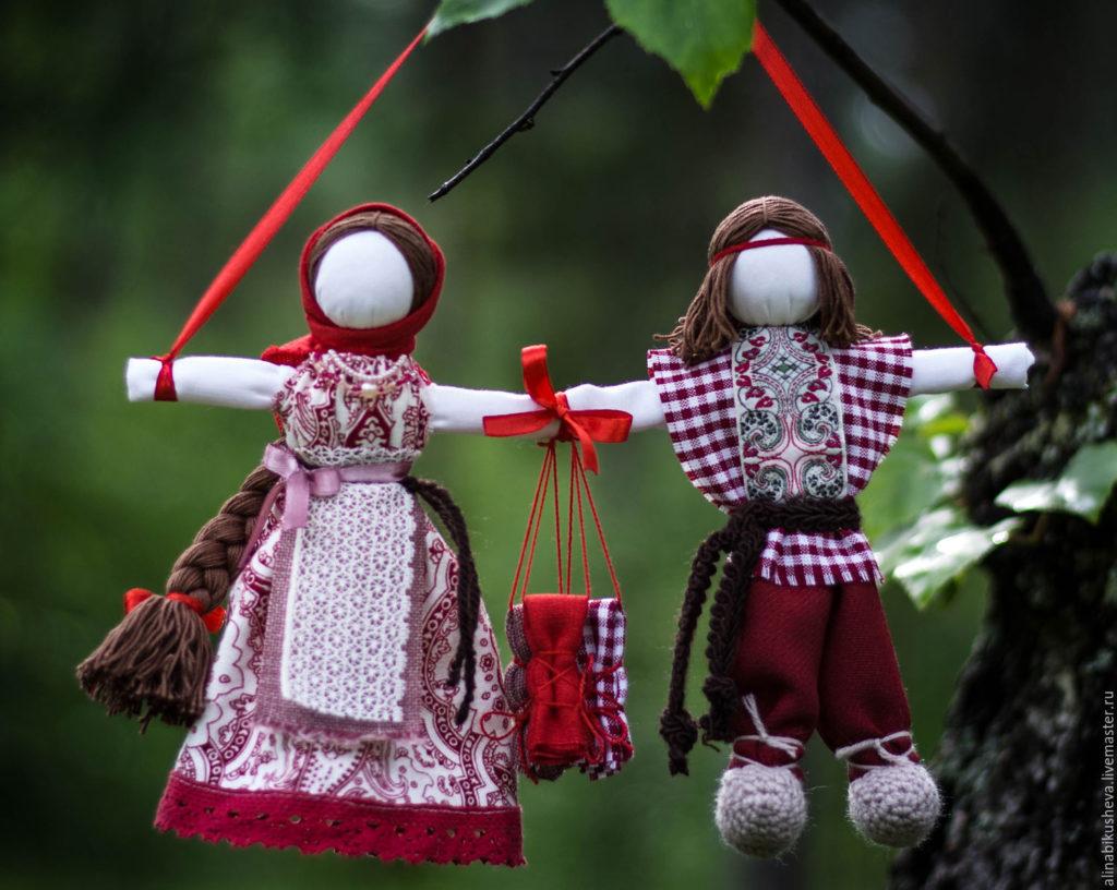 Кукла-оберег Неразлучники