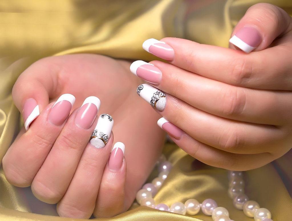Ногти нарощенные на акриле
