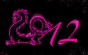 новой год 2012