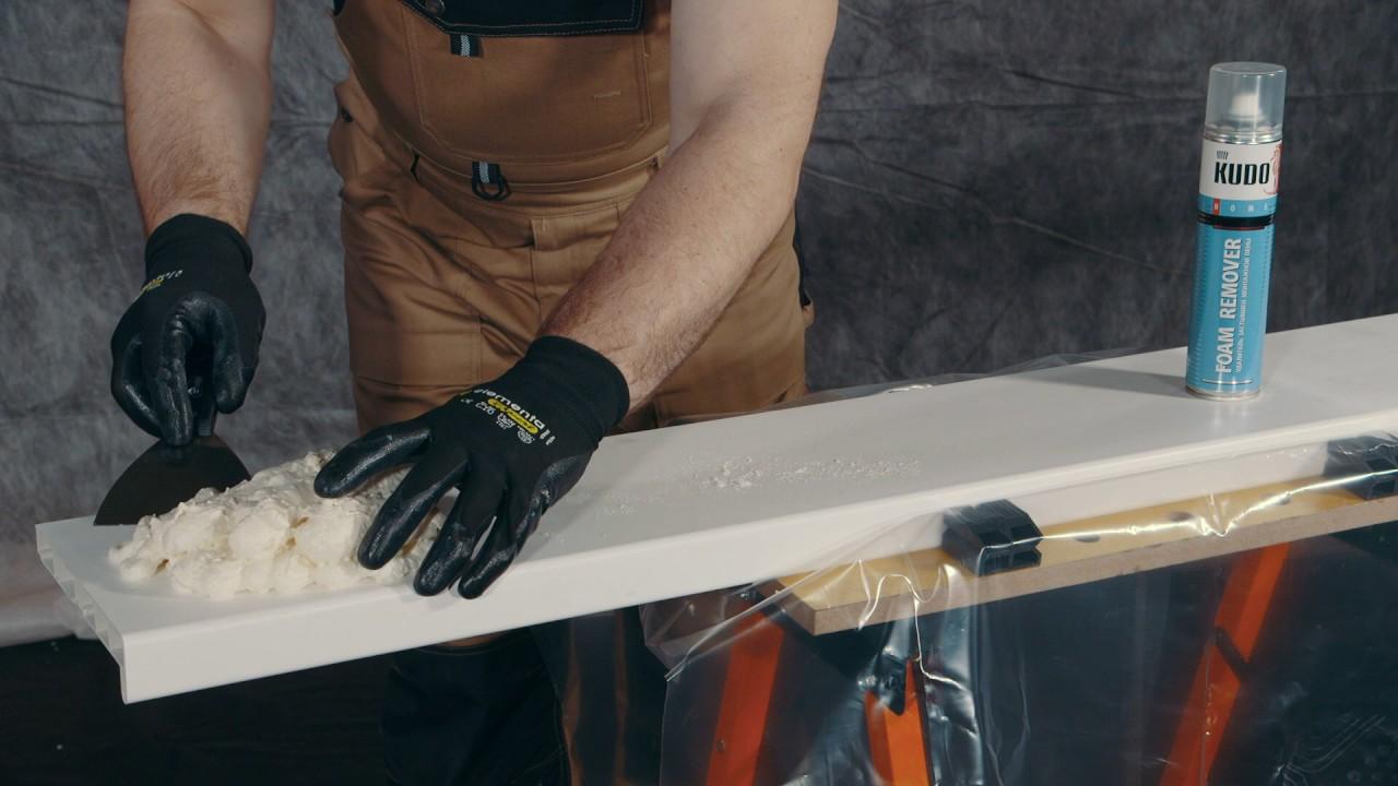 Чем смыть руки от монтажной пены в домашних условиях 362