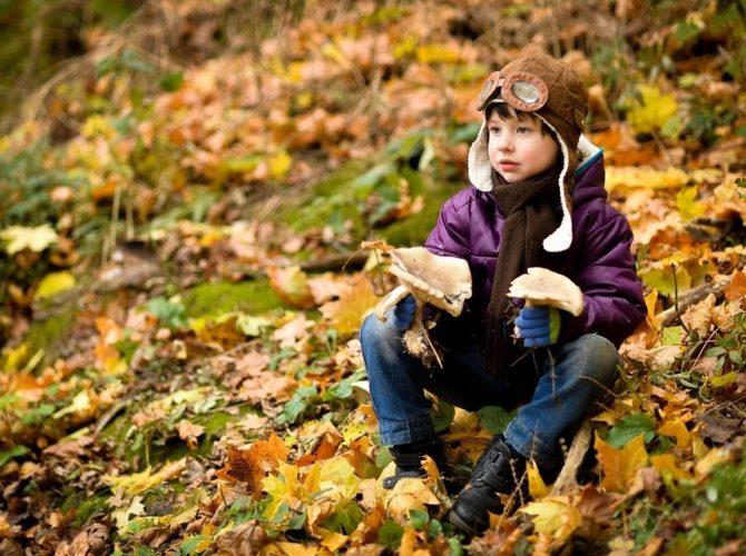 Детские аксессуары на осень