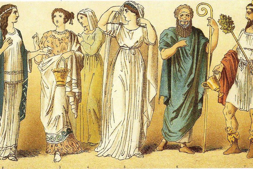 одежда из древности