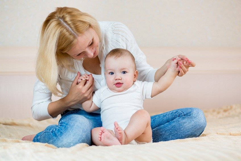 Когда можно присаживать малыша