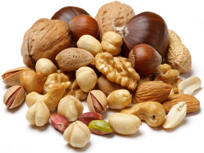 Орехи россыпью