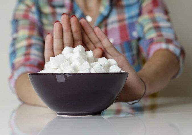 отказаться от потребления сахара