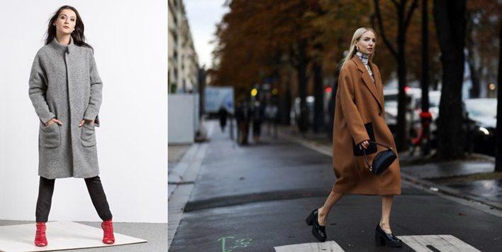 пальто для груши