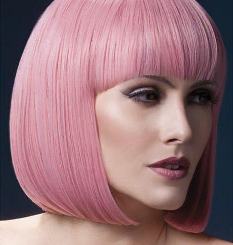 розовый парик купить