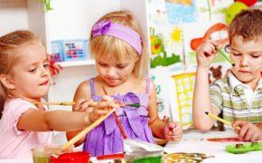 Первый день в детском саду