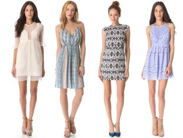 Фото модных платьев для девушек