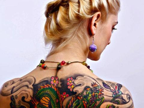 пигменты для татуировок