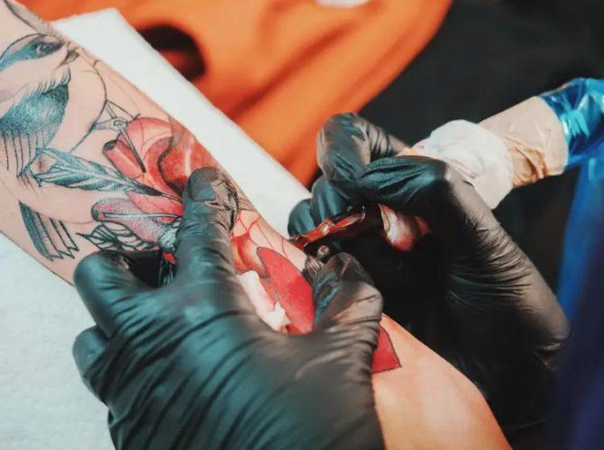 Пигменты для татуировки