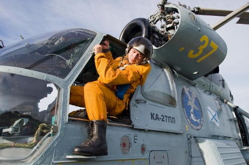 Пилот вертолёта