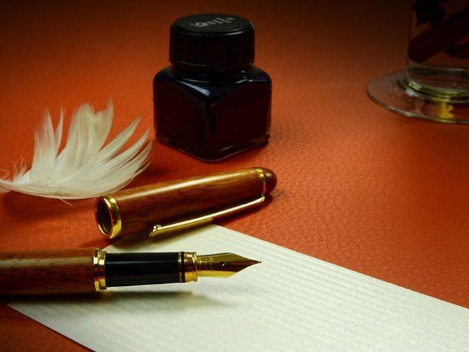письменные принадлежности