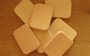 Пластинки из дерева