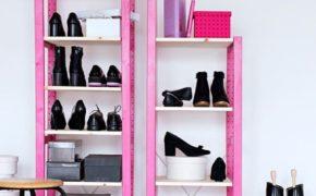 Пластмассовая обувница