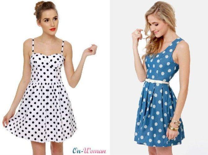 вечерние короткие платья в ретро стиле