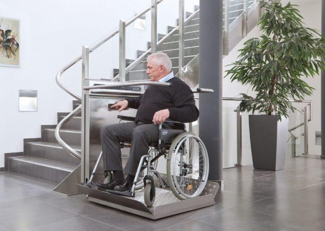 Лестничные подъемники для инвалидов