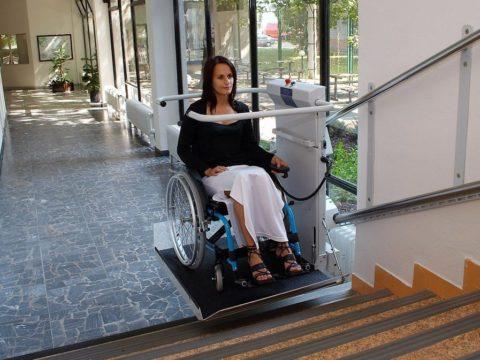 подъемник лестничный для коляски
