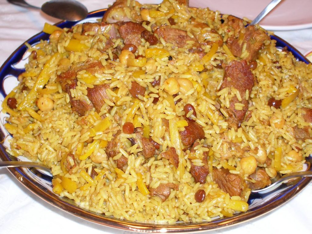 Плов из риса