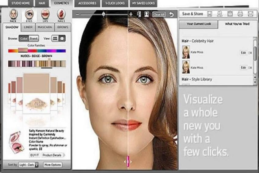онлайн подбор причесок и макияжа по фотографии
