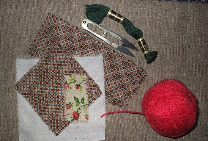 Подготовка к изготовлению куклы-мотанки