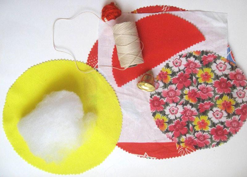 Материалы для куклы Колокольчик