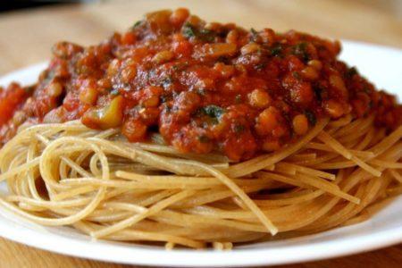 как сделать подливу к спагетти.рецепты