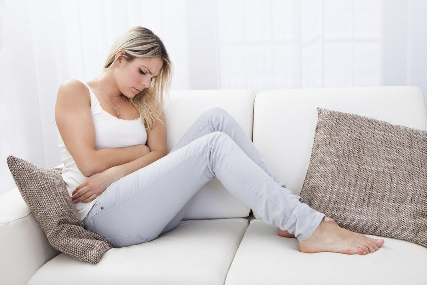 После родов болит желудок