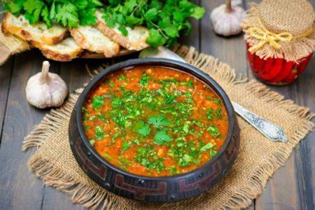 Как приготовить настоящий суп харчо дома