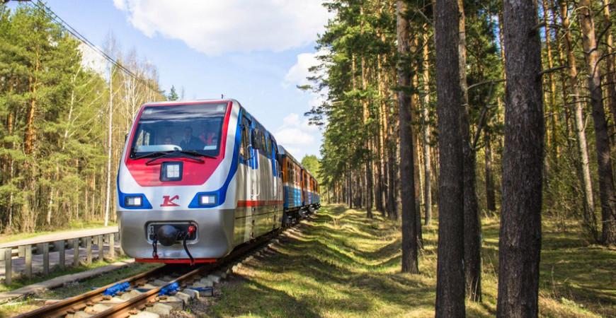 Детская железная дорога Ярославля