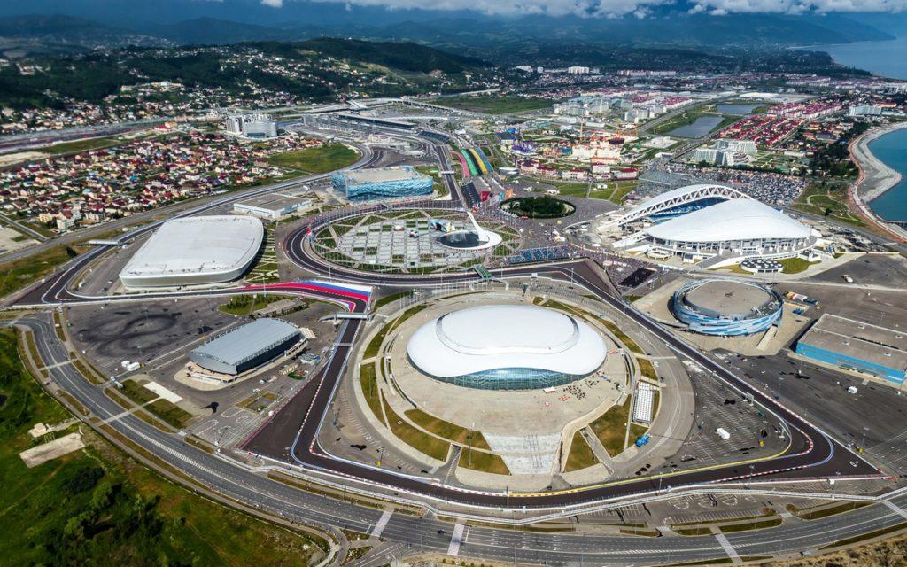 Олимпийский парк в Сочи