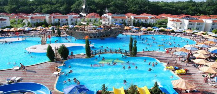 Азербайджанский курорт Набрань